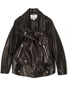 Acne Studios Swift Moto Jacket - Lyst