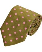 Richard James Polka Dot Neck Tie - Lyst