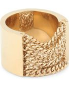 Chloé Delfine Draped Chain Ring - Lyst