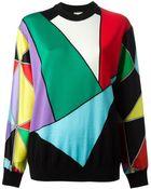 Fausto Puglisi Colour Block Sweater - Lyst