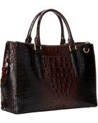 Brahmin Small Lincoln Satchel - Lyst