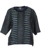 Kenzo Short Sleeve Sweater - Lyst
