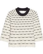 3.1 Phillip Lim Two-Tone Textured-Knit Sweater - Lyst