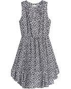Rebecca Taylor Lena Leopard Ruffle Dress - Lyst