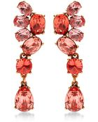 Oscar de la Renta Crystal Drop Earrings - Lyst