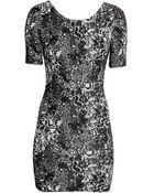 H&M Jacquardknit Dress - Lyst