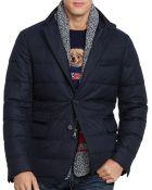 Ralph Lauren Polo Quilted Wool Sport Coat - Lyst