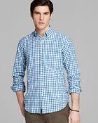 Gant Rugger Madras Gingham Check Button Down Shirt - Slim Fit - Lyst