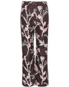 Marni Cotton And Silk Trousers - Lyst