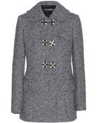 Dolce & Gabbana Tweed Jacket - Lyst