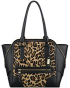 Nine West Punch Love Leopard Print Tote Bag - Lyst