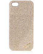 Diane von Furstenberg Glitterati Iphone® 5 Case - Lyst