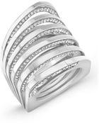 Vita Fede Futurro Cutout Crystal Ring - Lyst