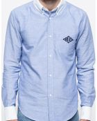 Band Of Outsiders L/S Button Down Monogram Shirt - Lyst