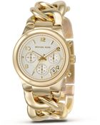Michael Kors Stainless Steel Chronograph Watch, 38 Mm - Lyst