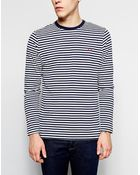 Fred Perry T-shirt with Breton Stripe in Long Sleeves - Lyst