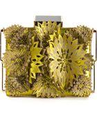 Tonya Hawkes Cut Out Flowers Clutch - Lyst