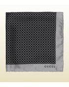 Gucci Printed Silk Pocket Square - Lyst