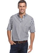 Tommy Hilfiger Big and Tall West Striped Shirt - Lyst
