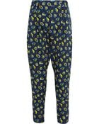 Suno Printed Stretch-Silk Tapered Pants - Lyst