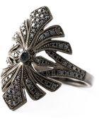 Joelle Jewellery 'Antique' Tip Finger Ring - Lyst