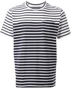 Sacai Striped T-Shirt - Lyst