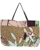 I'm Isola Marras Large Fabric Bag - Lyst