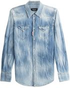 DSquared² Denim Shirt - Lyst