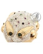 Judith Leiber Pre-Owned Frog Miniaudiere Crystal Clutch - Lyst