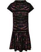 Kenzo Spray Stripes Jacquard Dress - Lyst