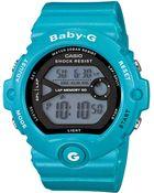 G-shock Babyg Womens Digital Runners Blue Resin Strap Watch 49x45mm 2 - Lyst