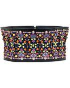 Manish Arora 120Mm Embellished High Waist Belt - Lyst