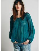 Free People Womens Fp One Morning Light Top - Lyst