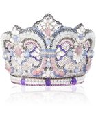Judith Leiber Couture Crystal Crown Clutch Bag - Lyst