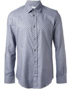 Maison Margiela Patterned Shirt - Lyst