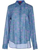 Lisa Corti Long Sleeve Shirt - Lyst