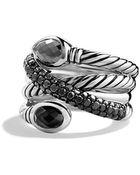 David Yurman Renaissance Ring With Diamonds - Lyst