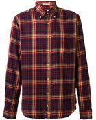 Gant Rugger Check Pattern Shirt - Lyst