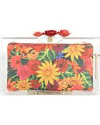 Charlotte Olympia Rose Pandora Clutch Bag - For Women - Lyst