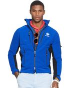 Ralph Lauren Fleece Full-Zip Jacket - Lyst