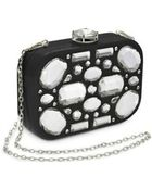 Miu Miu Crystal Minaudiere With Chain Strap - Lyst