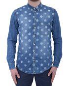 MSGM Denim Shirt - Lyst