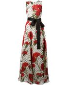 Dolce & Gabbana Multi Print Maxi Dress - Lyst