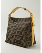 Fendi 'Zucca' Shoulder Bag - Lyst