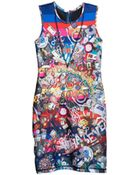 Cynthia Rowley Bonded Shift Dress - Lyst