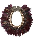 Lizzie Fortunato Birds Of Paradise Necklace - Lyst