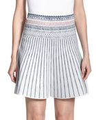 BCBGMAXAZRIA Queeny Printed Skirt - Lyst