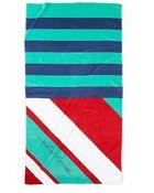 Tommy Hilfiger Diagonal Beach Towel - Lyst
