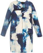 Giles Bleach-Print Jacquard-Cotton Coat - Lyst