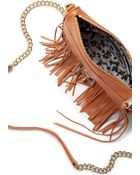 Rebecca Minkoff Mini M.A.C. Crossbody With Fringe - Lyst